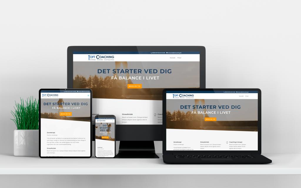 website design til coach